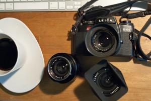 Leica R4s with R lens